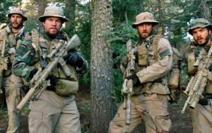 Kitsch, Wahlberg, Foster, and Hirsch in Lone Survivor